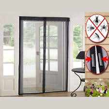Magnetic Curtains For Doors Magnetic Insect Door Screen Ebay