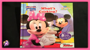 Minnie Mouse Easter Book Disney Mickey Minnie Mouse What S Cooking Read Aloud