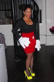 Minnie Mouse Halloween Costume Diy Mickey Mouse Diy Halloween Halloween Costumes Mickey Mouse