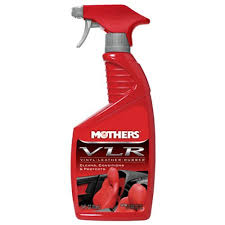 mothers 06524 vlr vinylleatherrubber care 24 oz