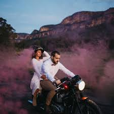 Car Interior Smoke Bomb Smoke Bombs Are The Wedding Photography Trend You Need To Try