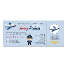 personalized airplane birthday invitations custominvitations4u com