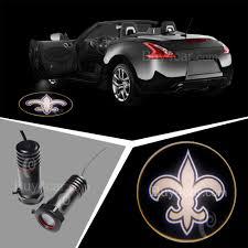 lexus logo lights nfl orleans saints car door welcome led ghost shadow light