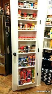 Kitchen Storage Furniture Pantry Pantry Door Storage Cabinet Door Rack Organizer Pantry Door Rack