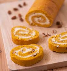 recette de cuisine gateau gâteau roulé au potimarron et lemon curd les meilleures recettes