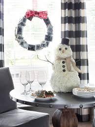 how to make a carnation snowman centerpiece hgtv