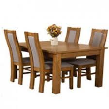 Solid Oak Dining Table Dining Sets Tables U0026 Chairs Oak Furniture King