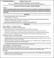 Resume Samples For Accountant by Accounting Resume Template Free Samples Examples U0026 Format