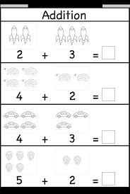 addition worksheets preschool free worksheets library download