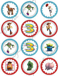 sugartotdesigns toy story 3 party invitations u0026 cupcake toppers
