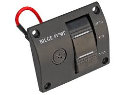 lighted rocker switch 12v amazon com five oceans three way rocker panel bilge pump switch