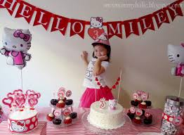 Hello Kitty Party Decorations Diy Hello Kitty Birthday Party Decorating Of Party