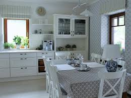 stunning english kitchen in white gray color scheme with fabulous