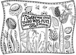 dr seuss garden coloring page illustrated by marie browning