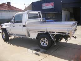 Land Cruiser Aluminium Canopy by Custom Aluminium Tray For Landcruiser 2 Perth Western Australia