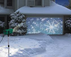 House Christmas Light Projector by Animated Holiday Scenes Projector The Green Head