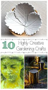 Gardening Craft Ideas 10 Highly Creative Gardening Crafts Nifty Diys