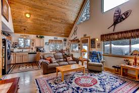 Beautiful Log Home Interiors C U0026j U0027s Mountain Hideaway Beautiful Log And Stone Cabin Just 25