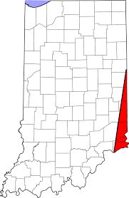 Map Of Counties In Ohio Welcome To Indiana U0027s Gore