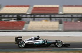 mercedes barcelona rosberg completes 172 laps for mercedes in day 2 of barcelona