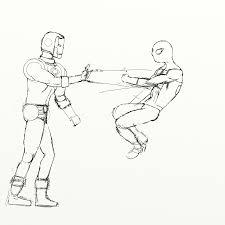 spider man takes classic avengers u2013 progress 03