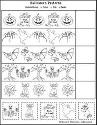 free thanksgiving pattern worksheet thanksgiving