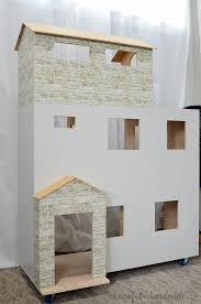 Barbie Dollhouse Plans How To by Handmade Dollhouse Plans A Houseful Of Handmade