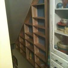 Shelves Between Studs by 24 Best Basement Stairway Storage Images On Pinterest Basement