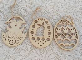 easter ornament tree laser cut easter egg ornament in party diy decorations from home