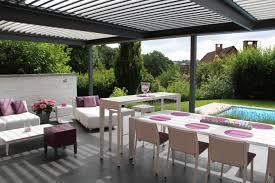 decoration terrasse exterieure moderne déco terrasse pergola
