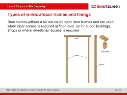 types of window and door frames powerpoint