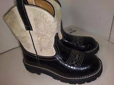 s fatbaby boots size 12 ariat ebay