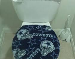 Dallas Cowboy Bathroom Set Toilet Seat Cover Etsy
