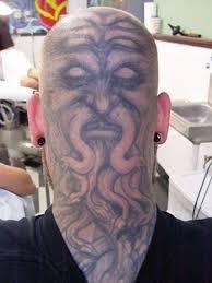funny bald head design tattoo tattoos book