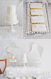 Angel Decorated Cake Kara U0027s Party Ideas Angel Baby Shower Party Ideas Supplies Idea