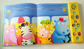 Children Sound Book Book Custom Book Printing Children Sound Book Book Custom Book Printing