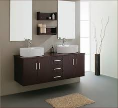 trendy bathroom cabinets double sink benevola
