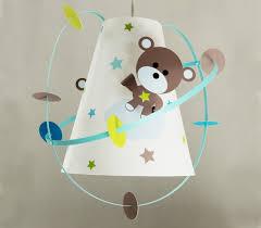 lustre chambre bébé garçon chambre bebe garcon taupe 3 lustre ours personnalis233 luminaire