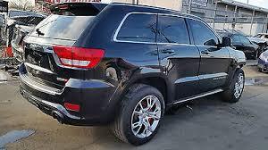 jeep srt8 for sale 2012 2012 jeep grand srt8 suv 4 door 6 4l salvage repairable