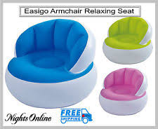 Blow Up Armchair Unbranded Bean Inflatables Furniture Ebay