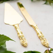 wedding cake serving set classic gold cake serving set wedding cake server set