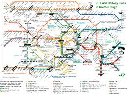 Tokyo Subway Map by With Love Kimv Tokyo Day 1 U0026 2