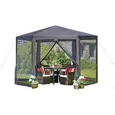 2 X 2 Metre Gazebo by Large Hexagon Gazebo W3 6m X H2 5m Hexagonal Marquee Awning Party
