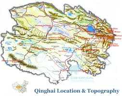 Har Map Topographic Map Of Qinghai China