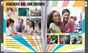 custom yearbook custom yearbook pages photo ideas for teachers treering