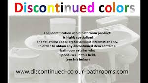 discontinued old bathroom colours colors old bathrooms twyford