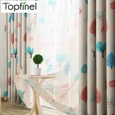 Childrens Curtains Girls Kids Curtains Top Finel Kids Curtains For Living Room Bedroom