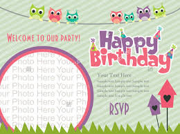 birthday invitation template 21 beautiful kids birthday invitations free psd eps vector