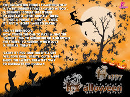Short Poems About Halloween Happy Halloween Poem And