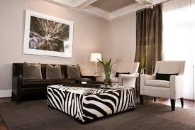 Zebra Ottoman Furniture Large Square Zebra Ottoman For Living Room Table Ideas